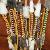 Beaded Lakota Arrow