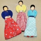 Navajo Cloth Doll 9""