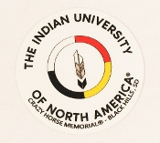 INDIAN UNIVERSITY OF NORTH AMERICA™ Sticker